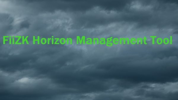 FiiZK Horizon Management Tool