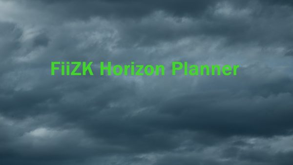 FiiZK Horizon Planner